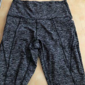 PINK VS cozy leggings size medium with pockets